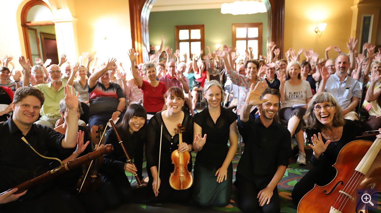 Brisbane Baroque Players at Old Government House