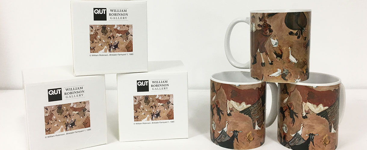 William Robinson Gallery mugs